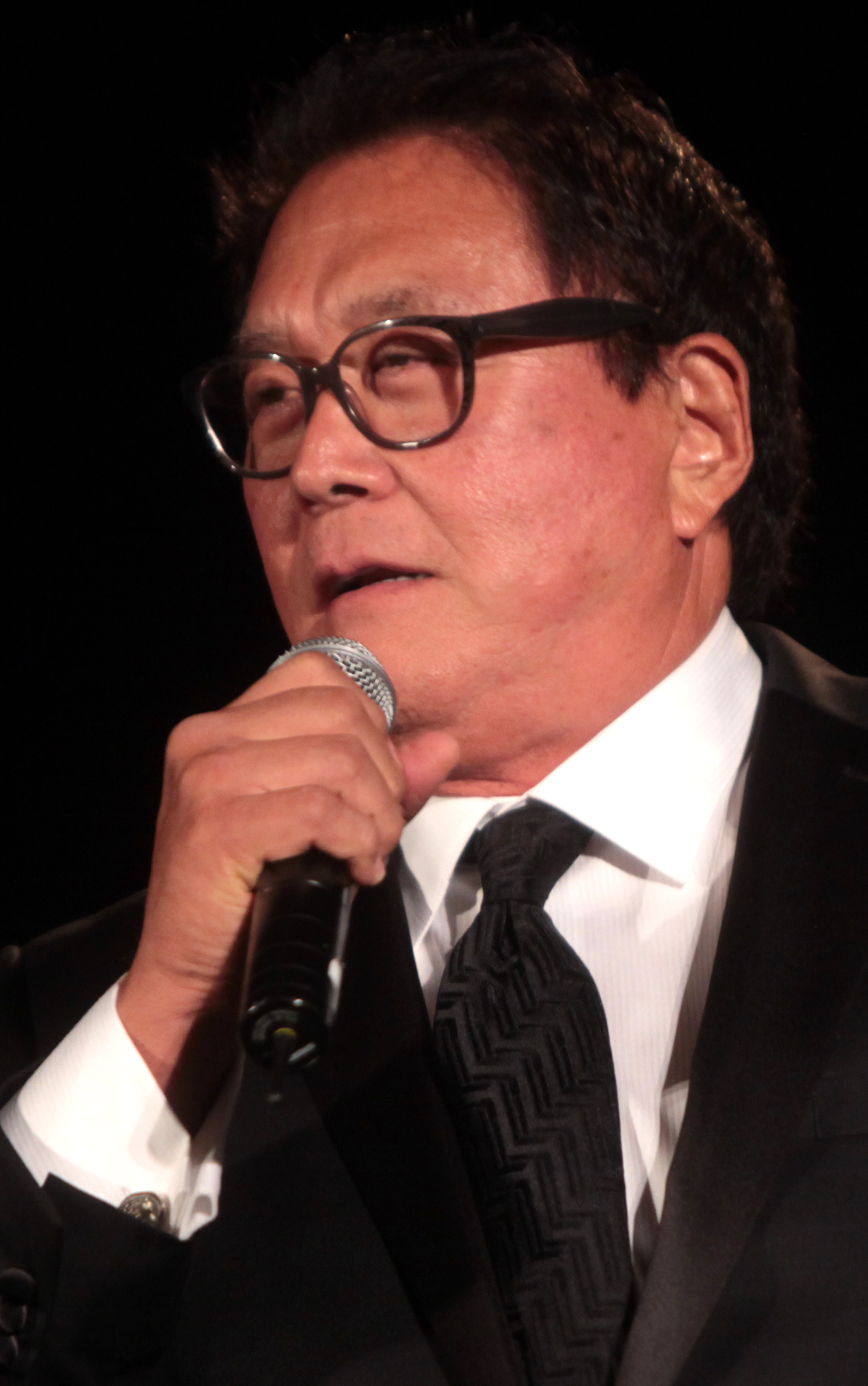 Poet Robert Kiyosaki