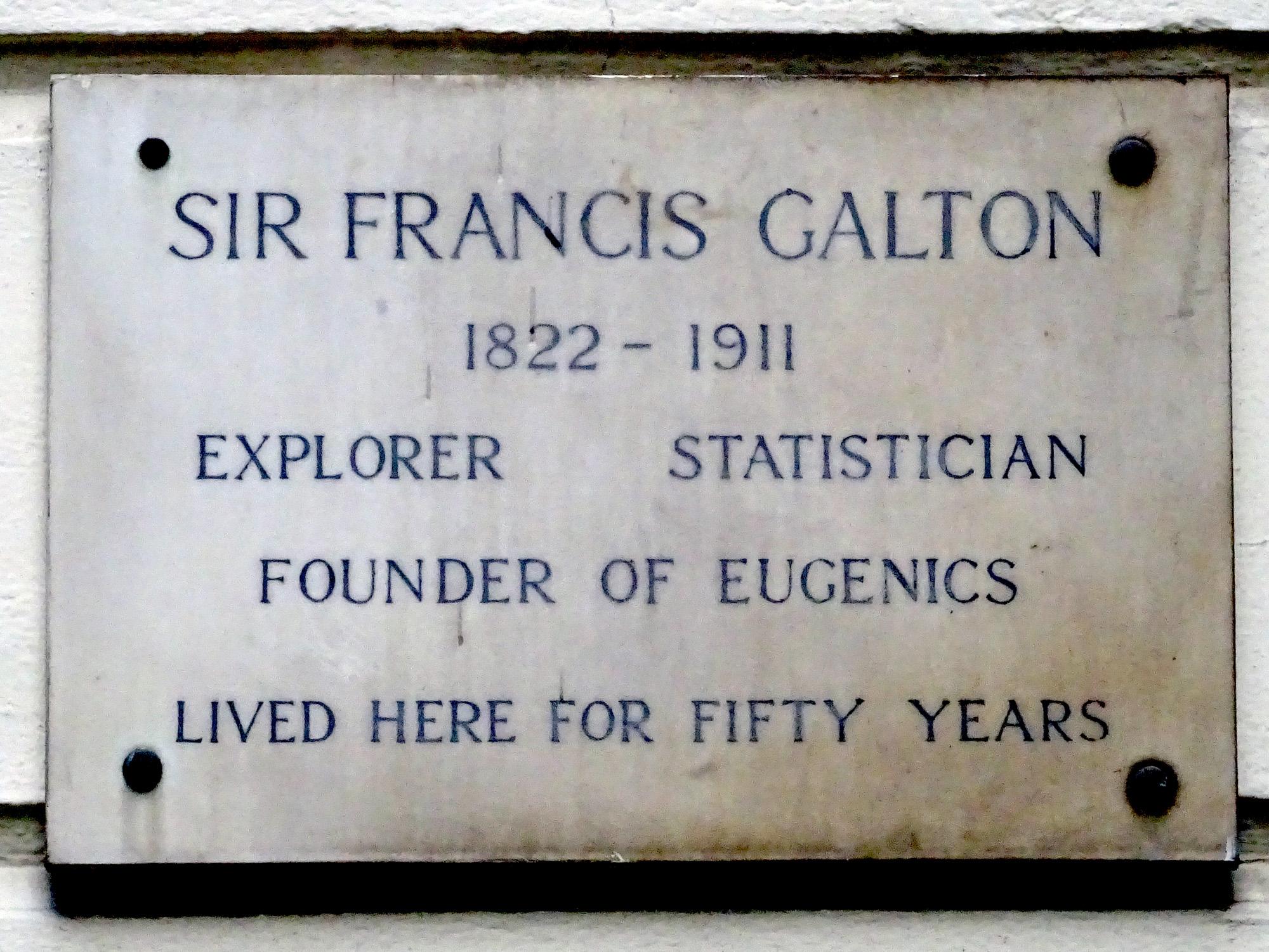 File:SIR FRANCIS GALTON 1822-1911 EXPLORER STATISTICIAN