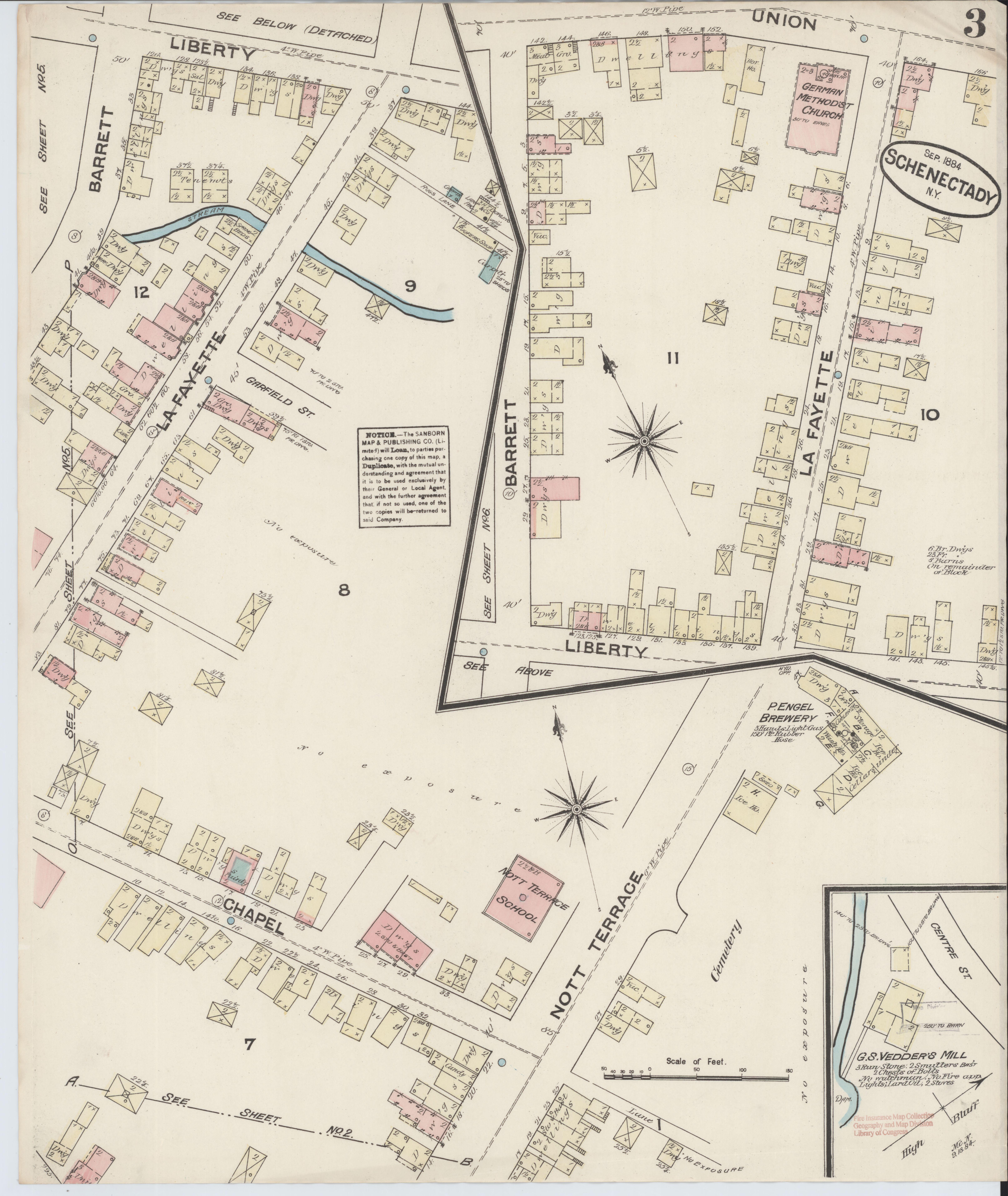 Schenectady New York Map.File Sanborn Fire Insurance Map From Schenectady Schenectady County