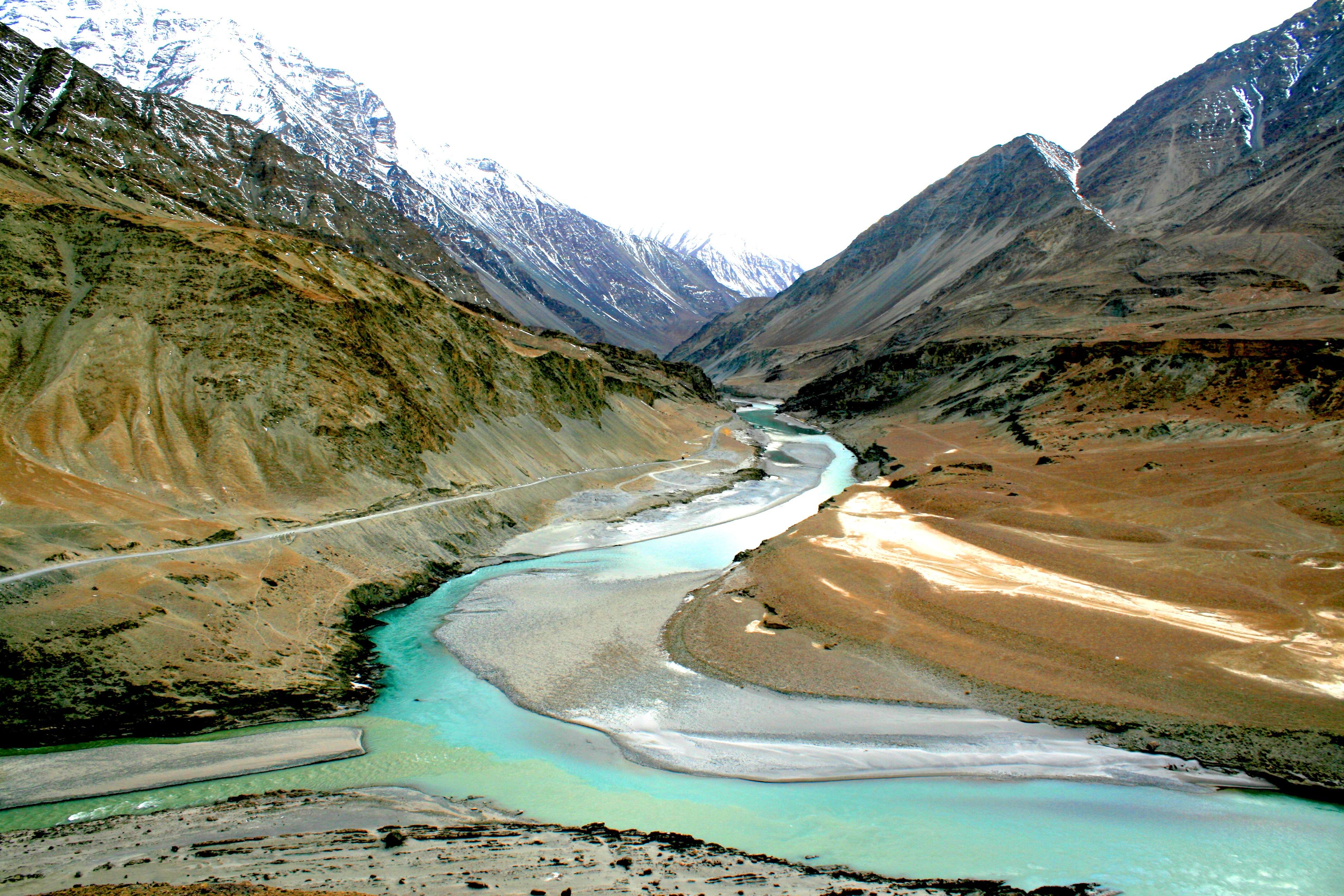 Way to kashmir wallpaper free way to kashmir wallpaper beautiful way - File Sangam Ladakh Jpg Wikimedia Commons