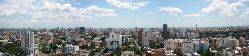 Panoramic view of the National District.