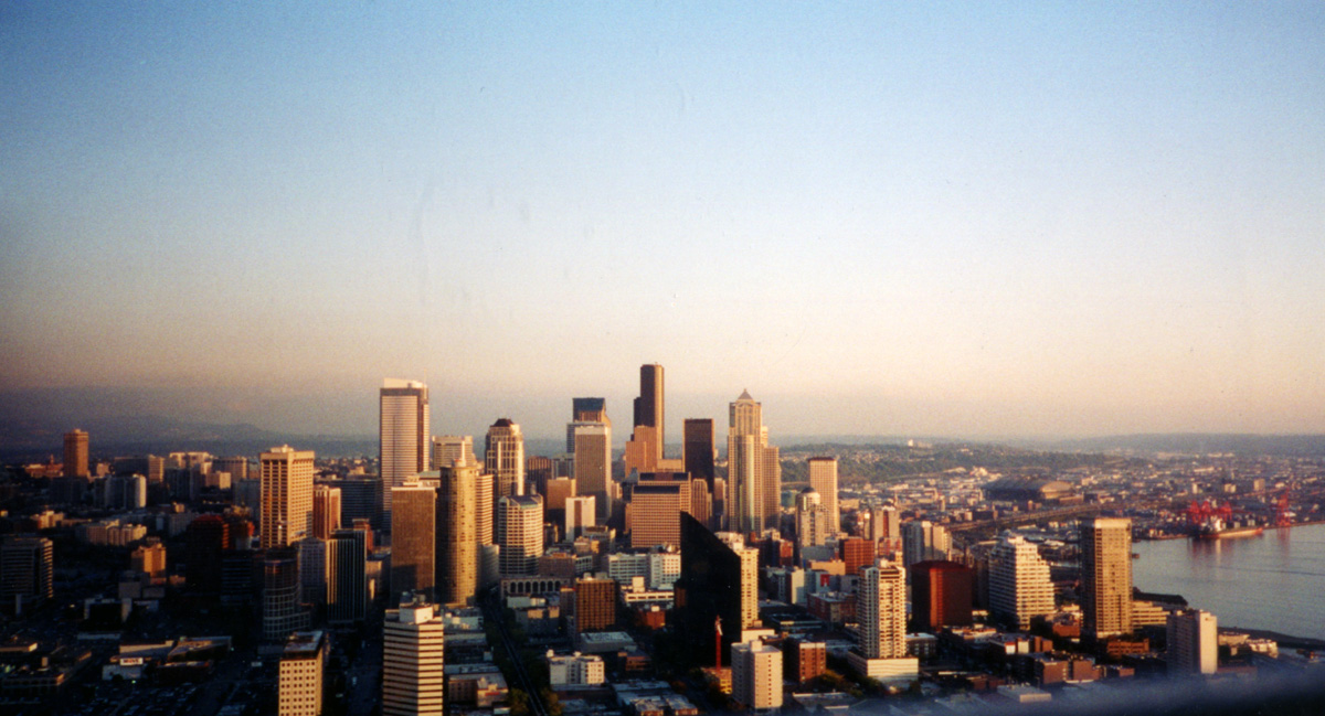File Seattle Skyline From Space Needle 5682112233 Jpg