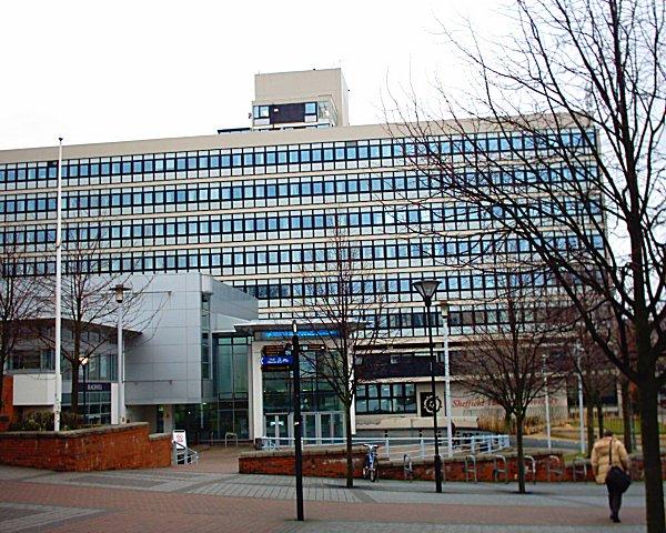 Owen Building Of Sheffield Hallam University