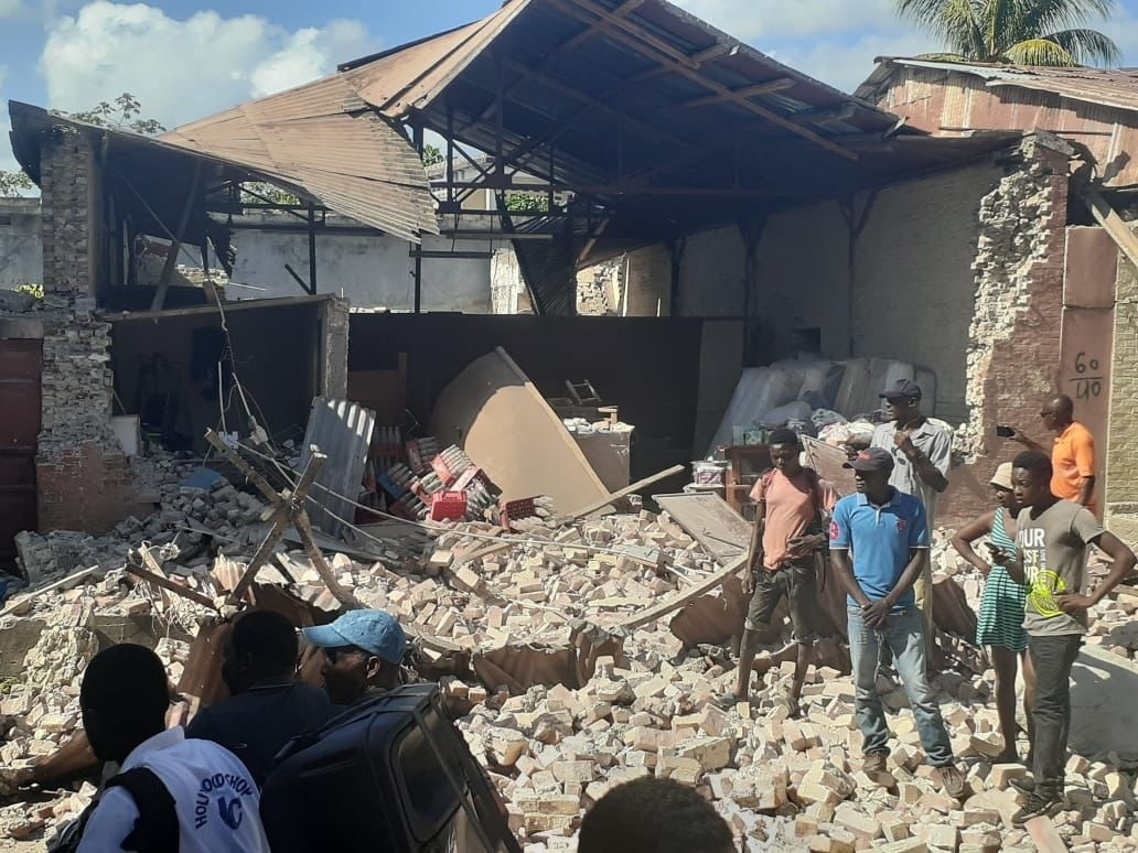 Tropical Storm Grace Batters Haiti In Aftermath of Devastating Earthquake