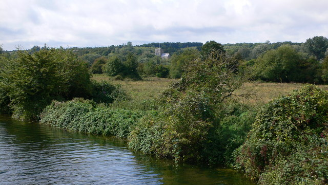 St Cross from the Itchen - geograph.org.uk - 375795