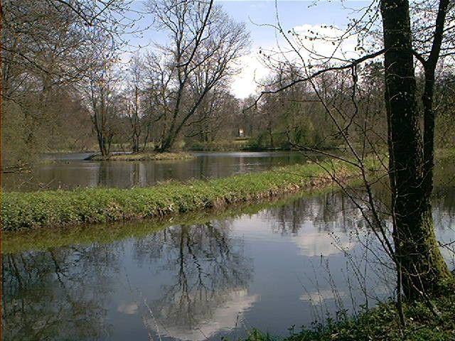 Teichansicht, Fürstlicher Park, 72505 Krauchenwies,