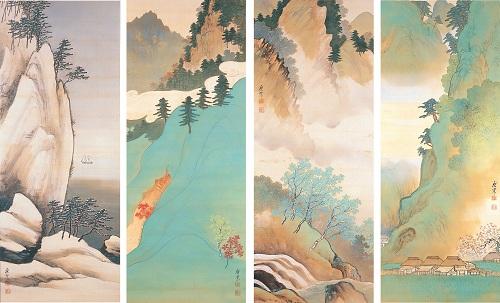 Terasaki Kôgyô Vier Jahreszeiten