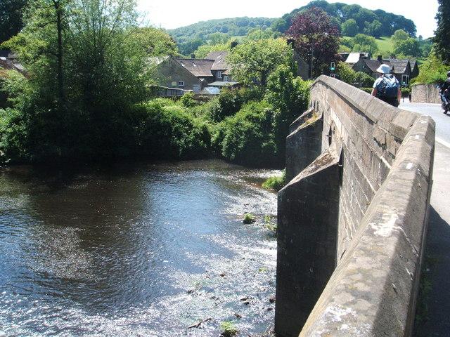 The Bridge at Rowsley - geograph.org.uk - 1336242