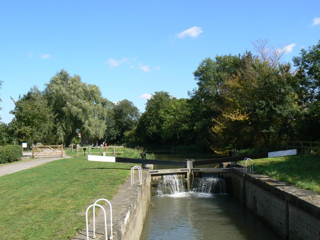 The Top Lock on the Pocklington Canal - geograph.org.uk - 548095