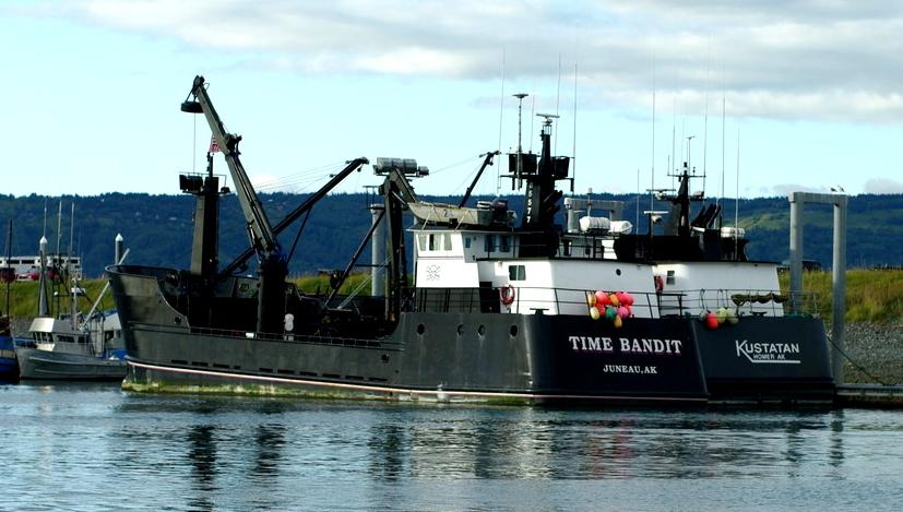 Fv time bandit wikipedia for Crab fishing boat