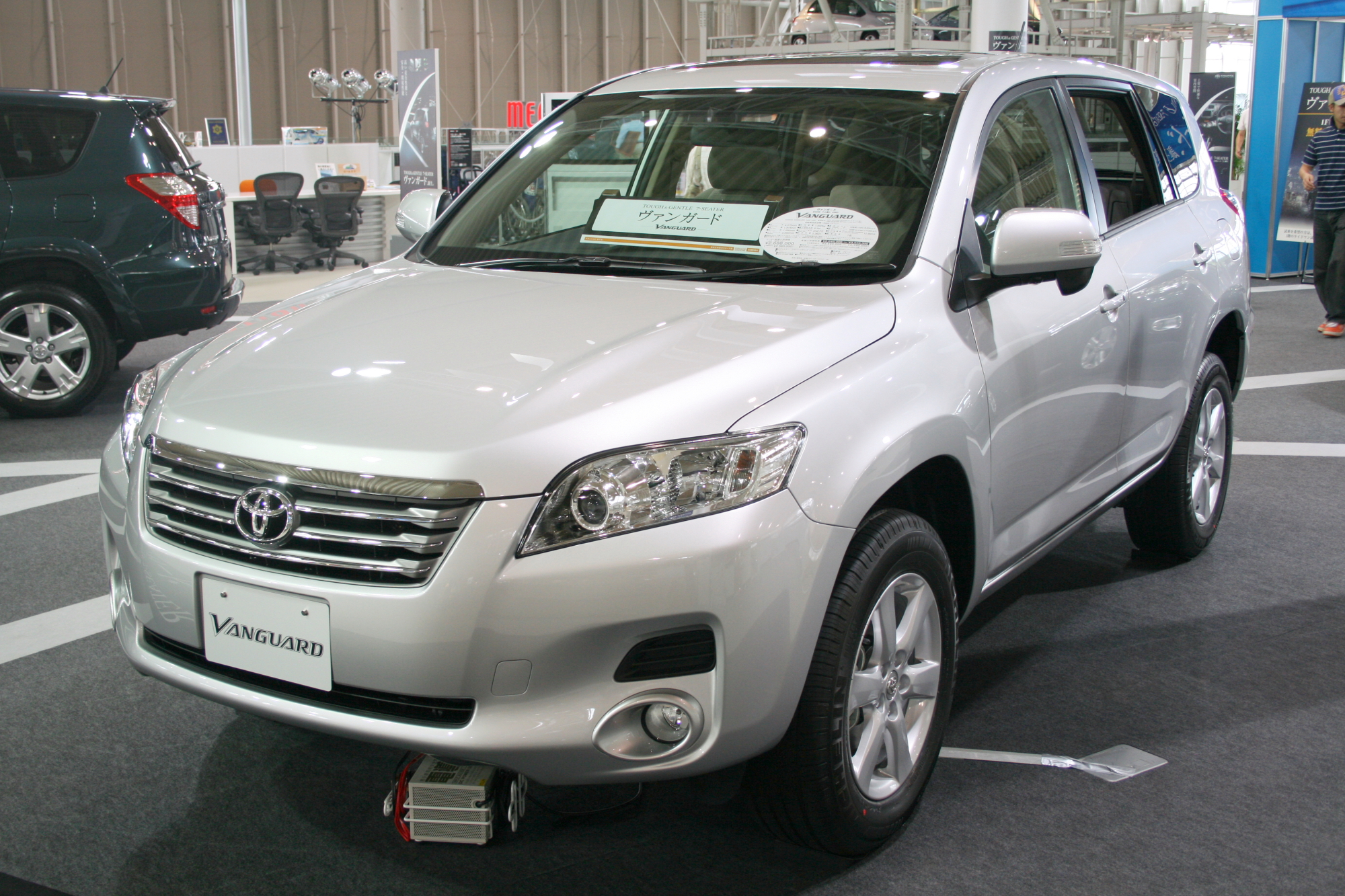 File Toyota Vanguard Jpg Wikimedia Commons