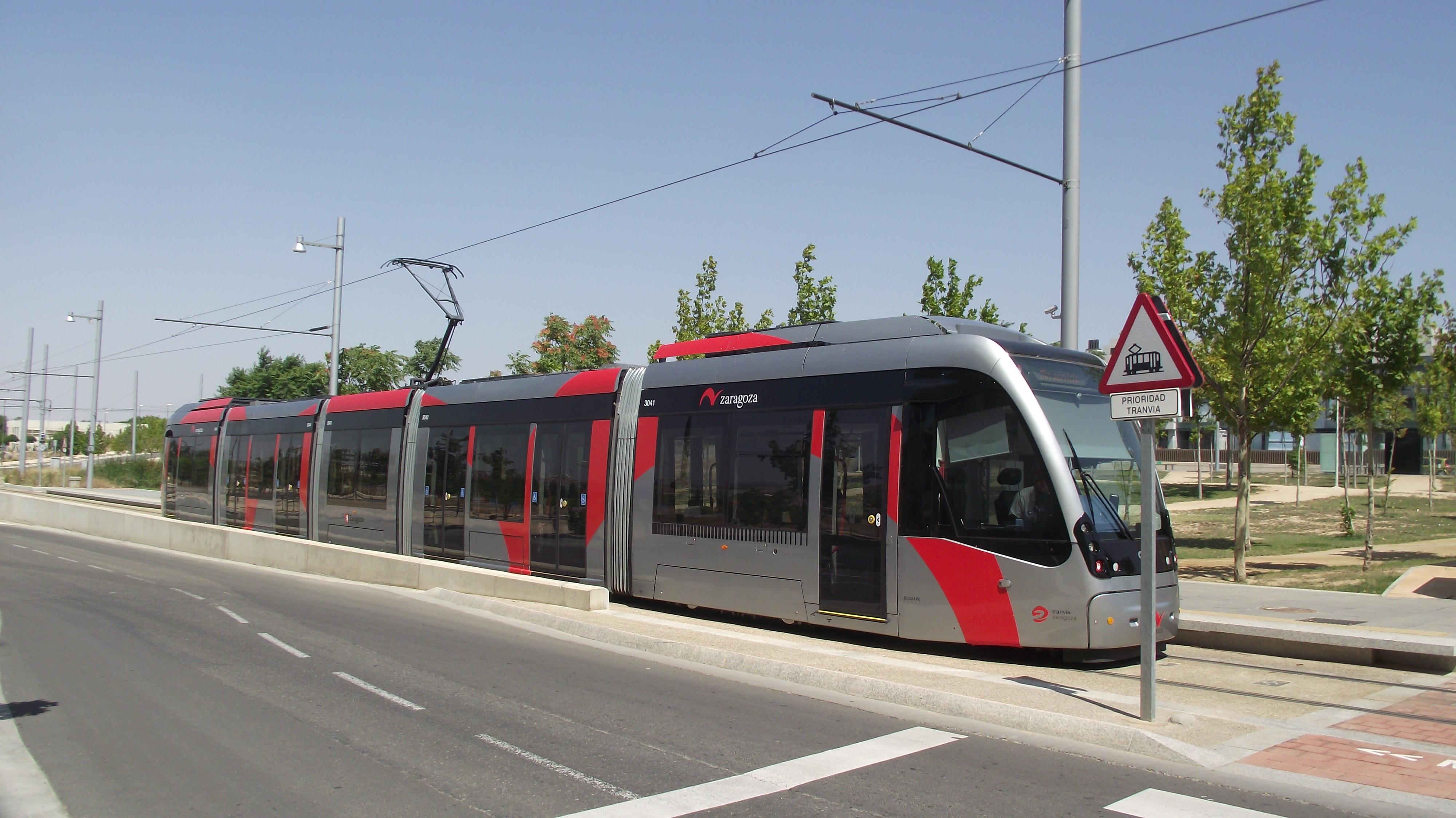 Tram Zaragoza
