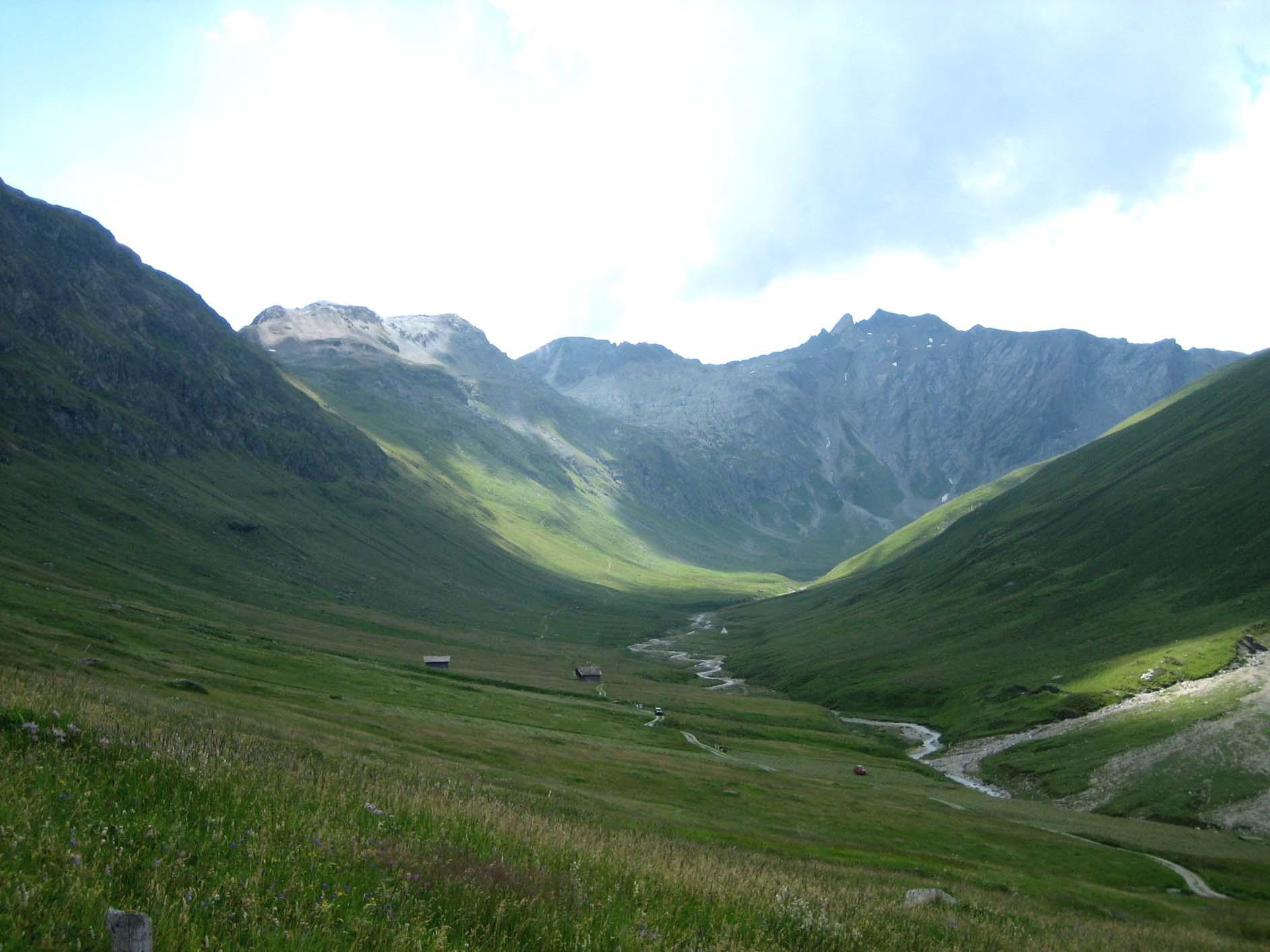 Avers valley near Juf