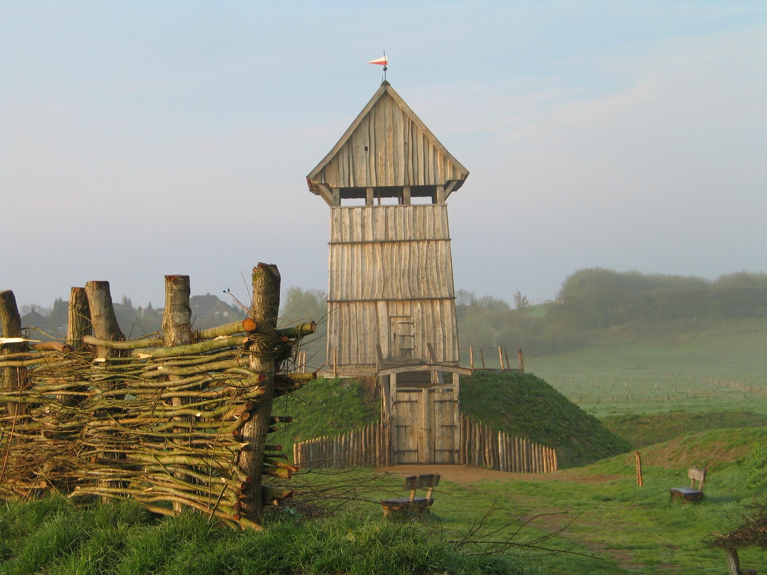 Wooden keep
