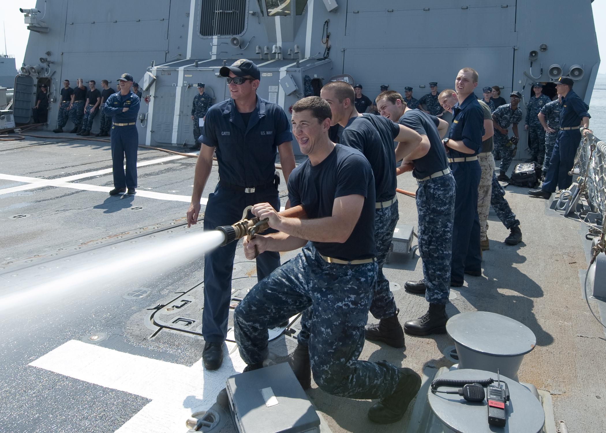 File:US Navy 110726-N-GZ228-131 Navy ROTC Midshipman Alex Egber is ...