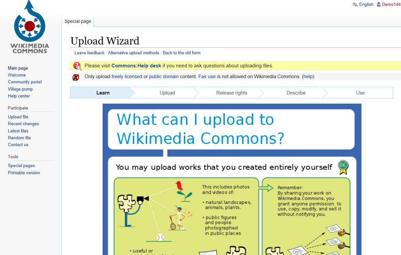 File:Upload wizard jpg - Wikimedia Commons