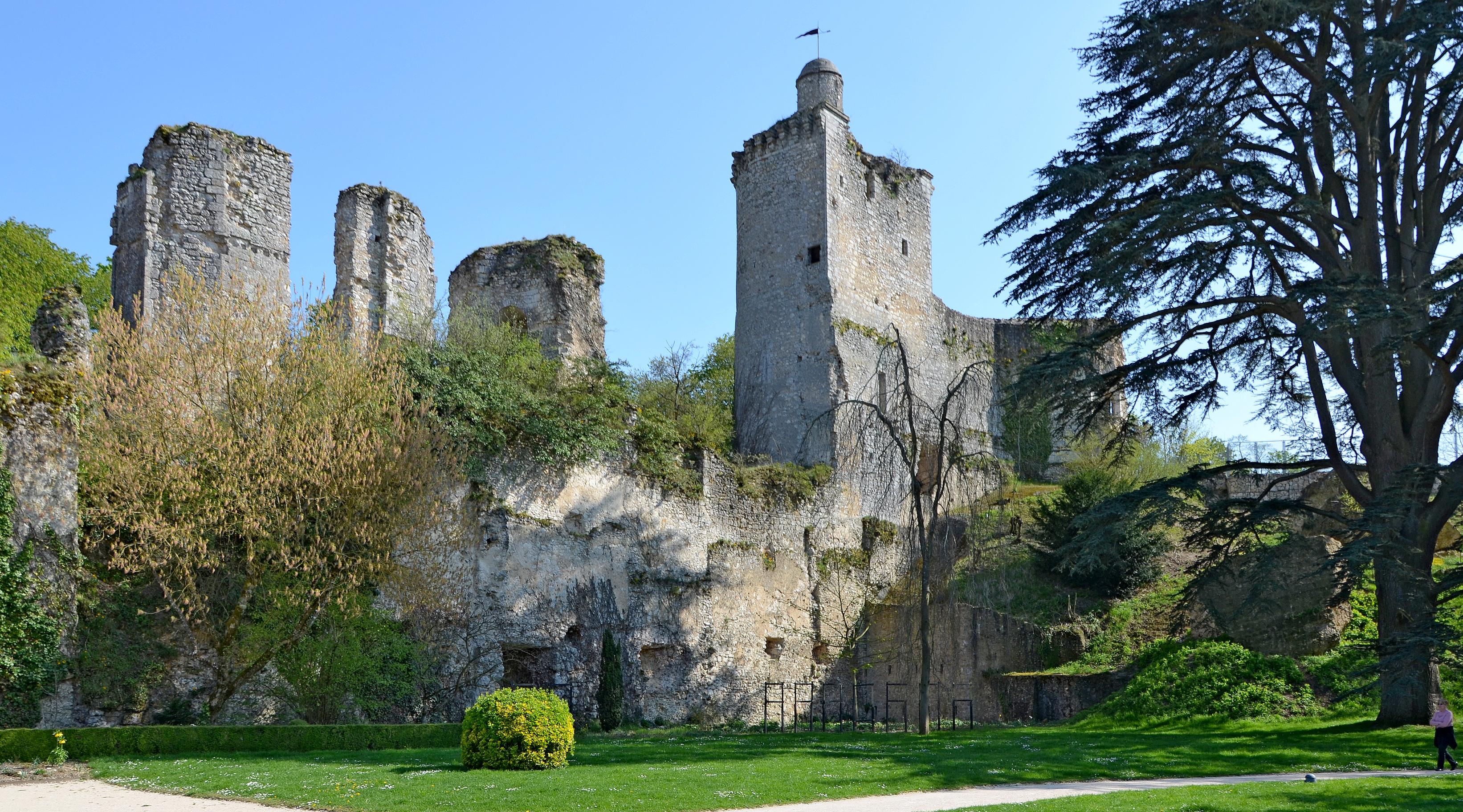 File vendome ruines du chateau dpt loir et cher dsc wikimedia commons - Office du tourisme loir et cher ...