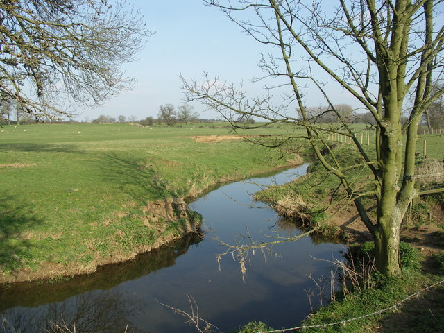 View of meadowland beside the River Sence. - geograph.org.uk - 388086
