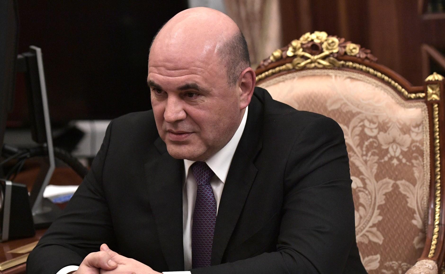 Wladimir Putin ernennt einen neuen Ministerpräsidenten von Russland