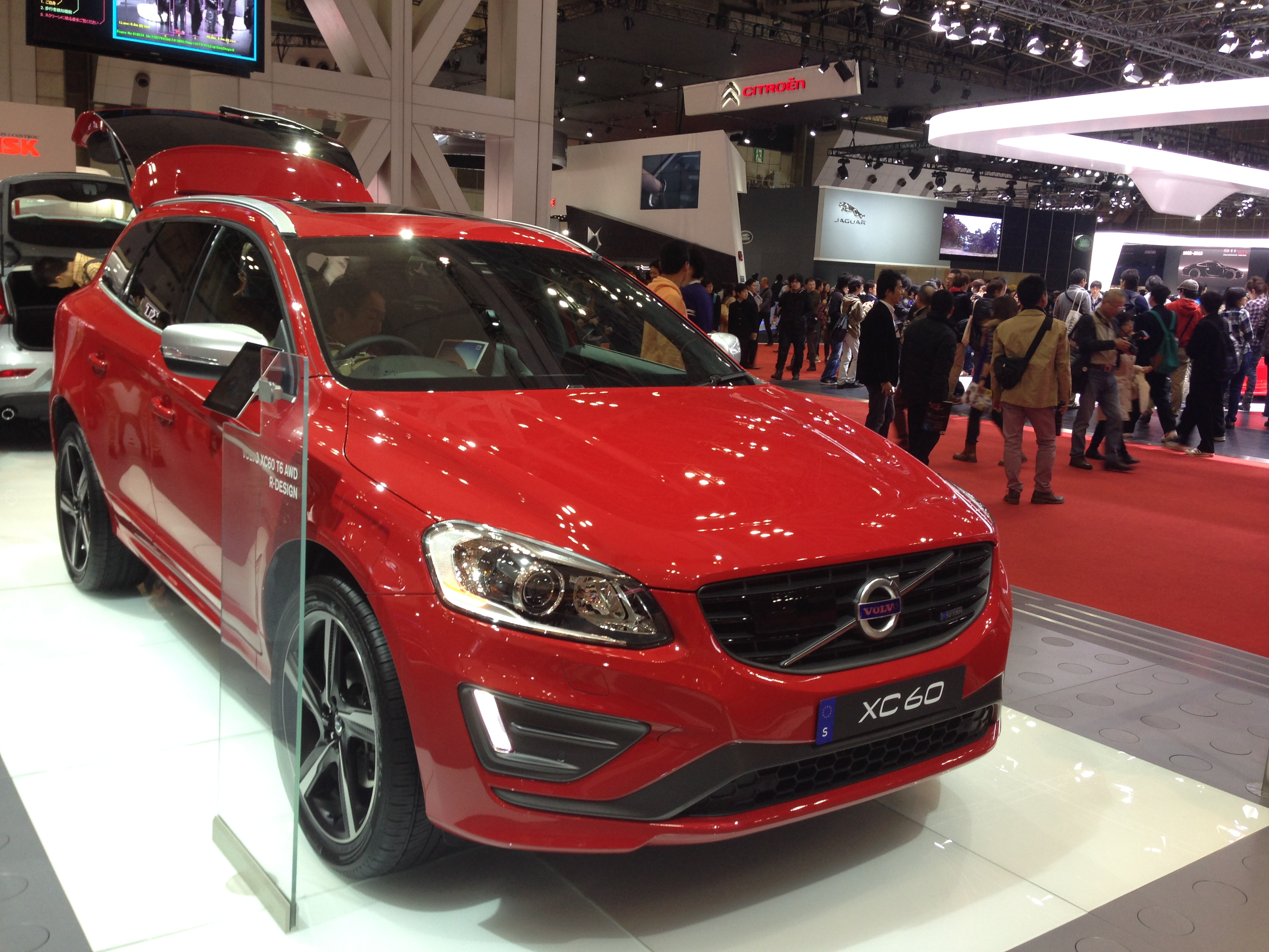 File Volvo Xc60 T6 Awd R Design Front Tokyo Motor Show