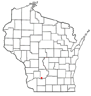 Location of Spring Green (town), Wisconsin