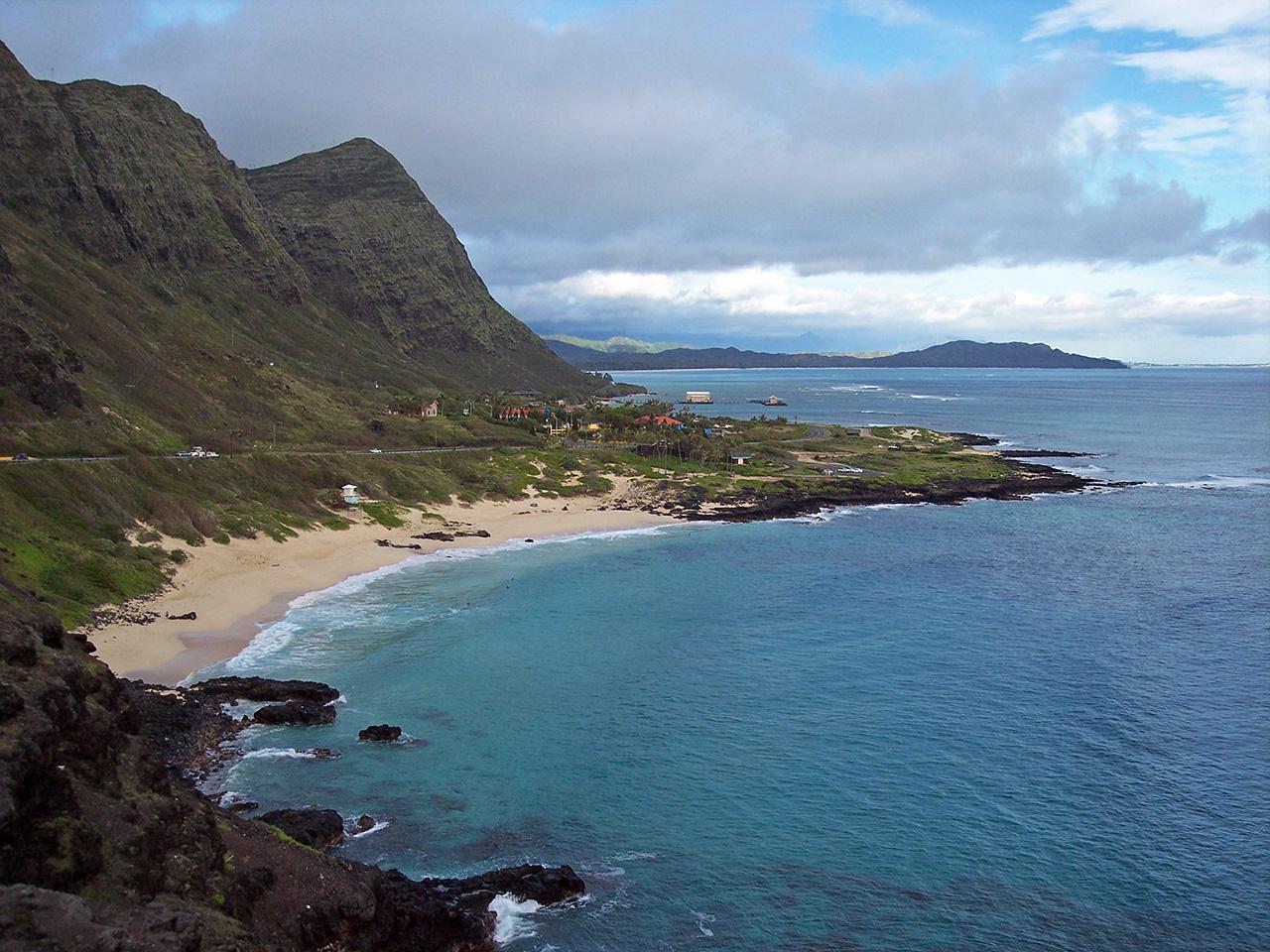 Contea Di Honolulu Hawaii waimanalo - wikipedia