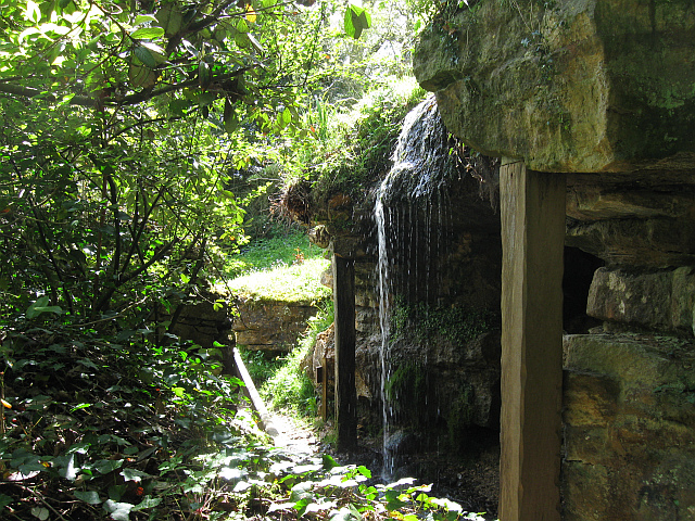 Waterfall at Batsford Arboretum-geograph-3467745