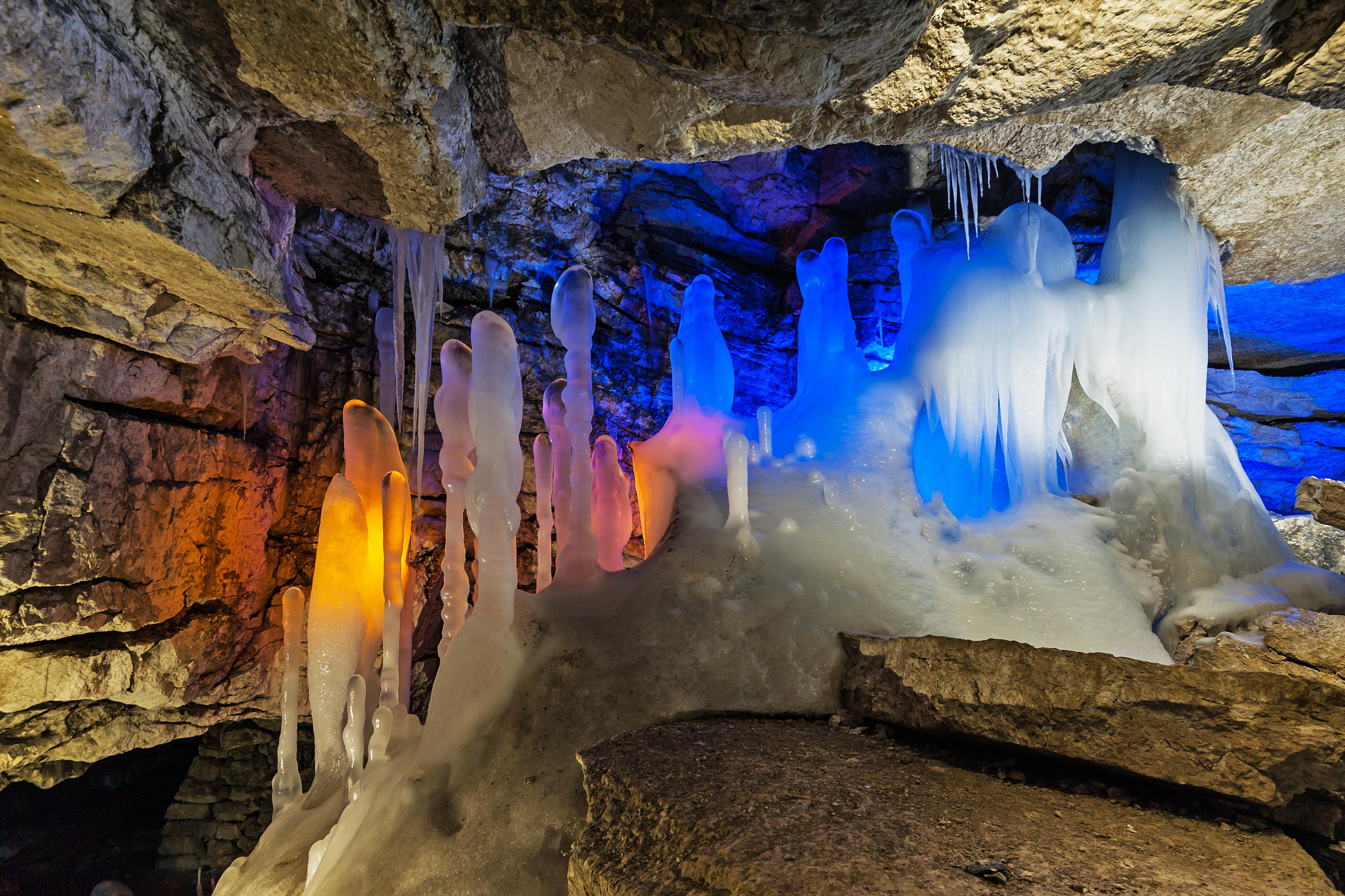 Кунгурская пещера описание доклад 3536