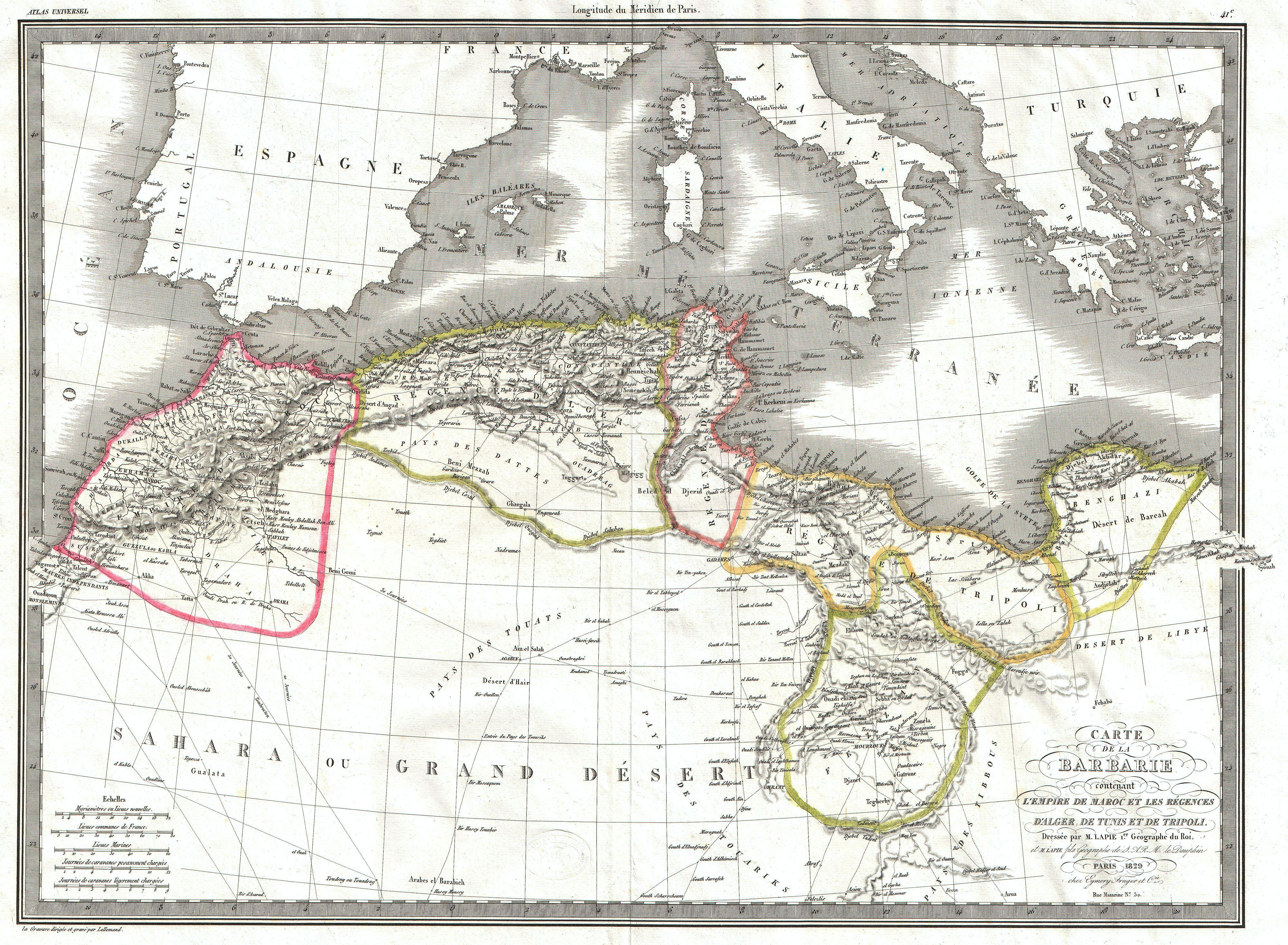 northwestern map with File 1829 Lapie Map Of The Eastern Mediterranean  Morocco  And The Barbary Coast   Geographicus   Barbarie Lapie 1829 on 3 Pagosa Pk Dacite furthermore Indian wells map besides Kyuquot 20Sound furthermore Many Guam Beaches likewise 4029.