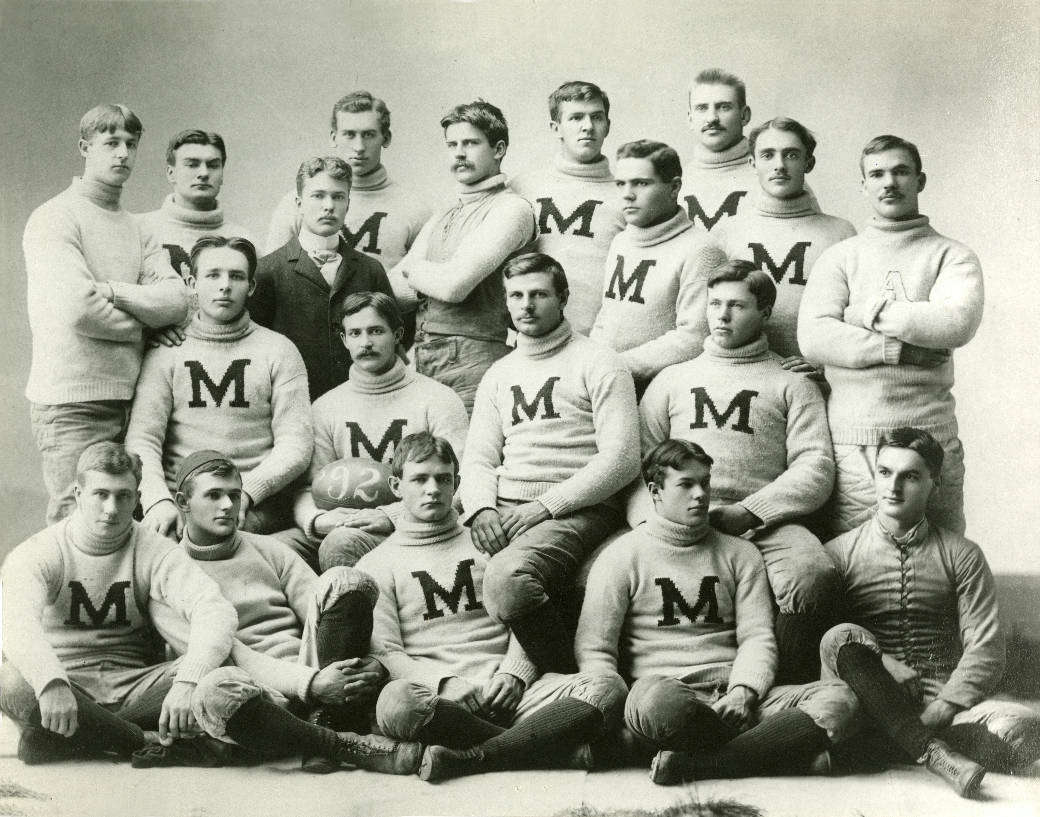 File:1891 Michigan Wolverines football team.jpg