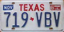 File:1986-89 Texas License Plate.jpg
