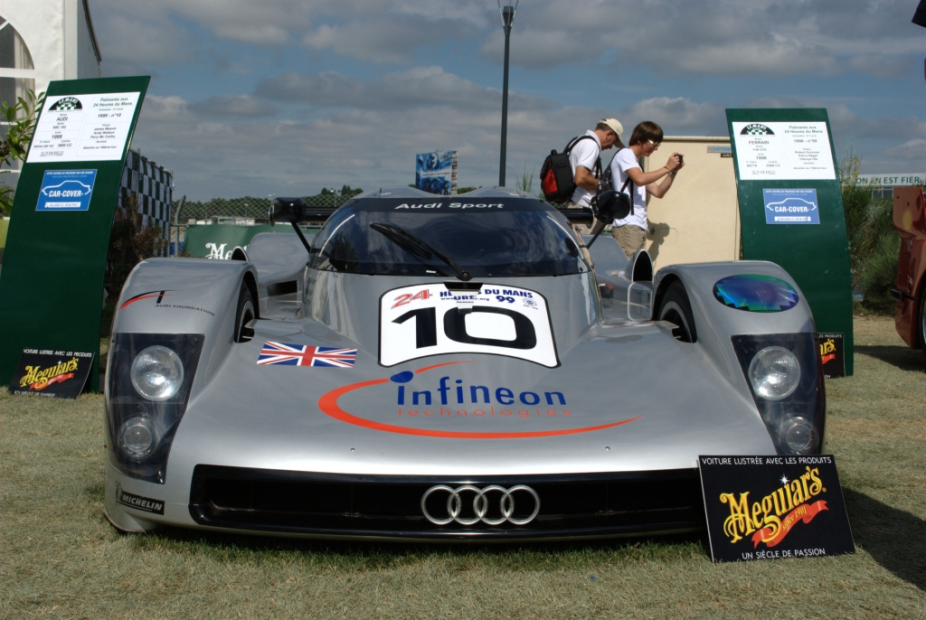 File:1999 Audi R8C at 2010 Le Mans Classic- front.jpg ...