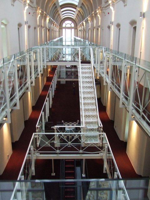 File 19th c victorian prison in castle turned into 21st for Prison converted to hotel