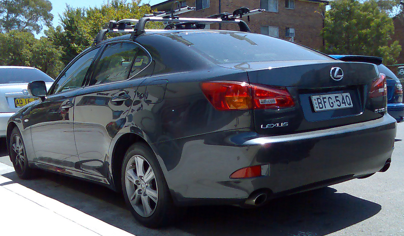 File:2005 2008 Lexus IS 250 (GSE20R) Sedan 02