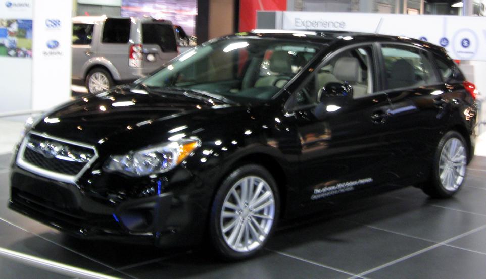 File2012 Subaru Impreza Hatch 2012 Dc Frontg Wikimedia Commons