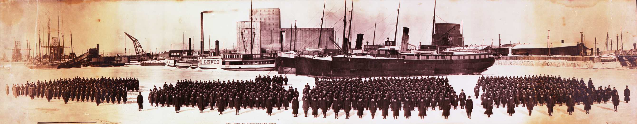A brief history of the canadian expeditionary force