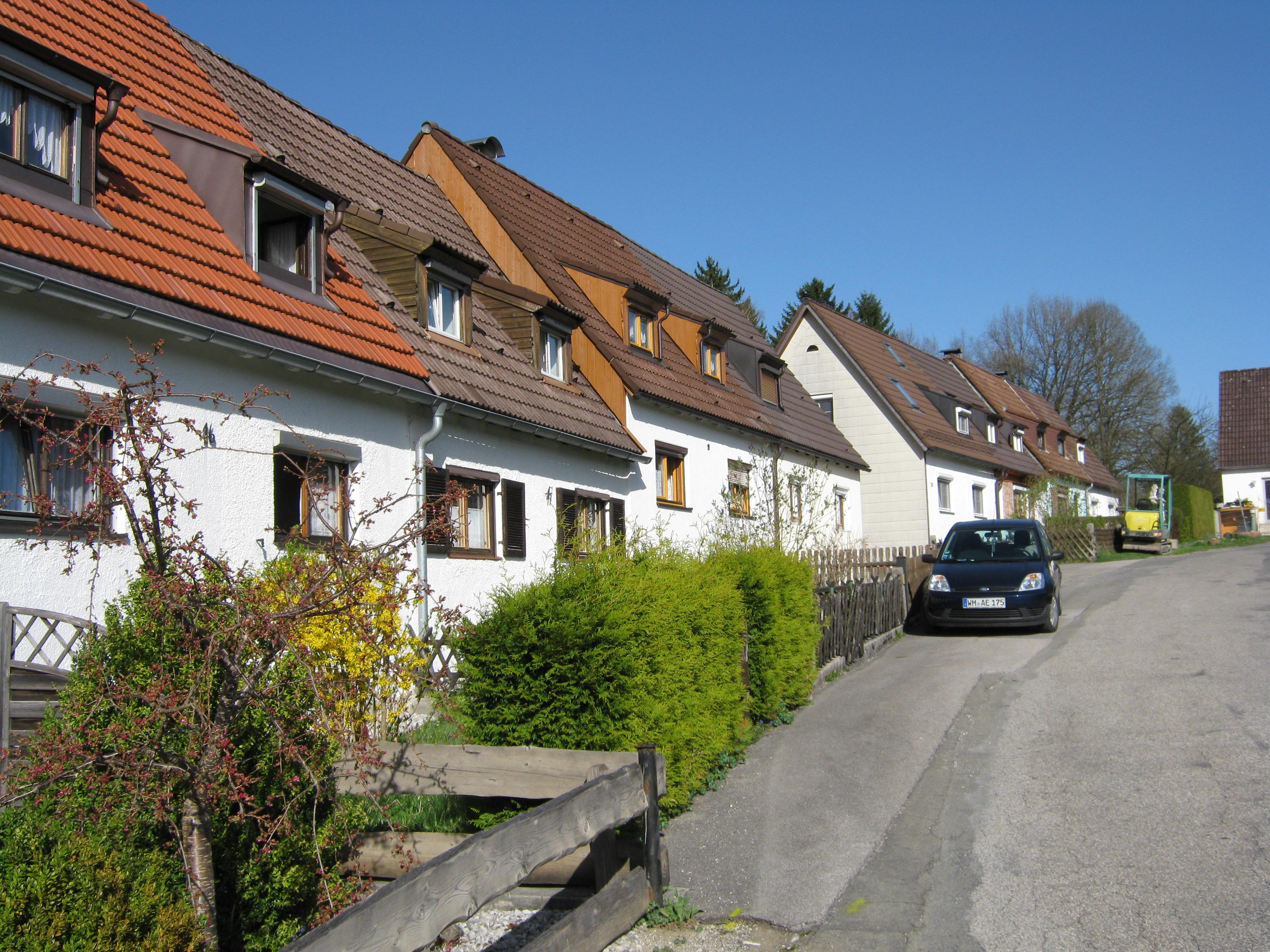 Datei9heimstättensiedlung Penzberg 6 Erbaut 1938 1940 Von