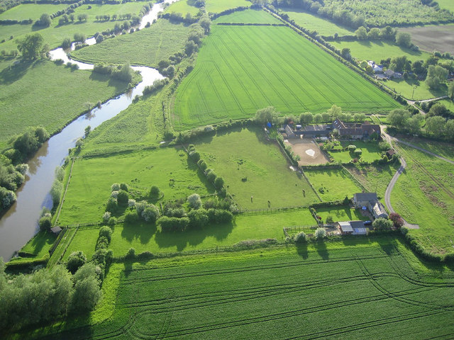 File Aerial View From Paramotor Of Stonehenge Farm