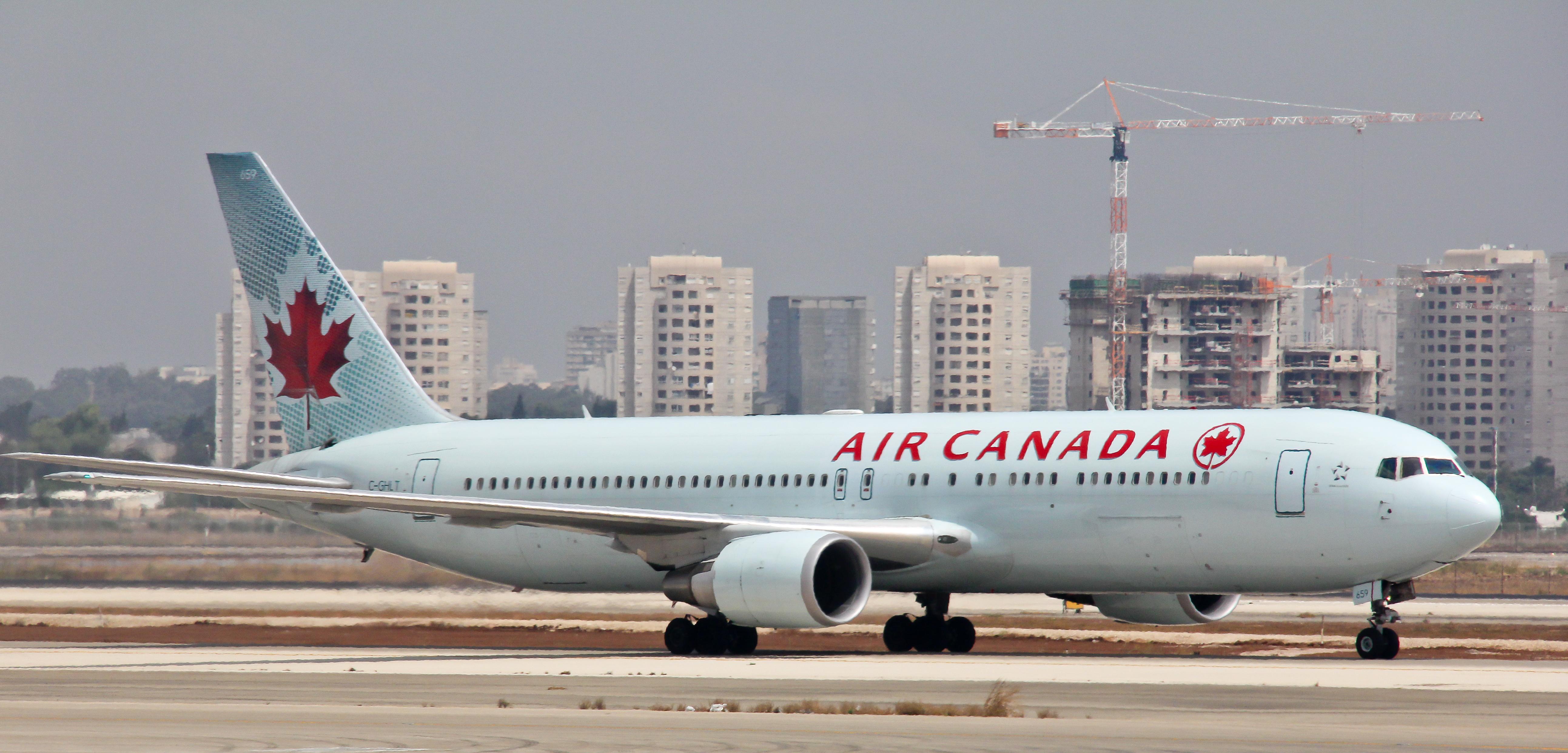 File:Air Canada - Boeing 767-333(ER) - Tel Aviv Ben Gurion - C ...
