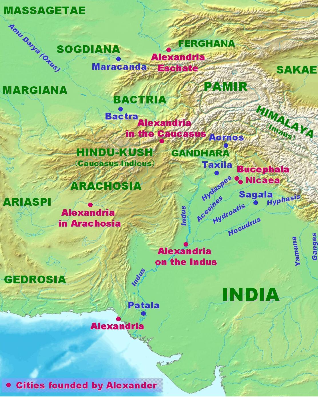 Geografía de la zona