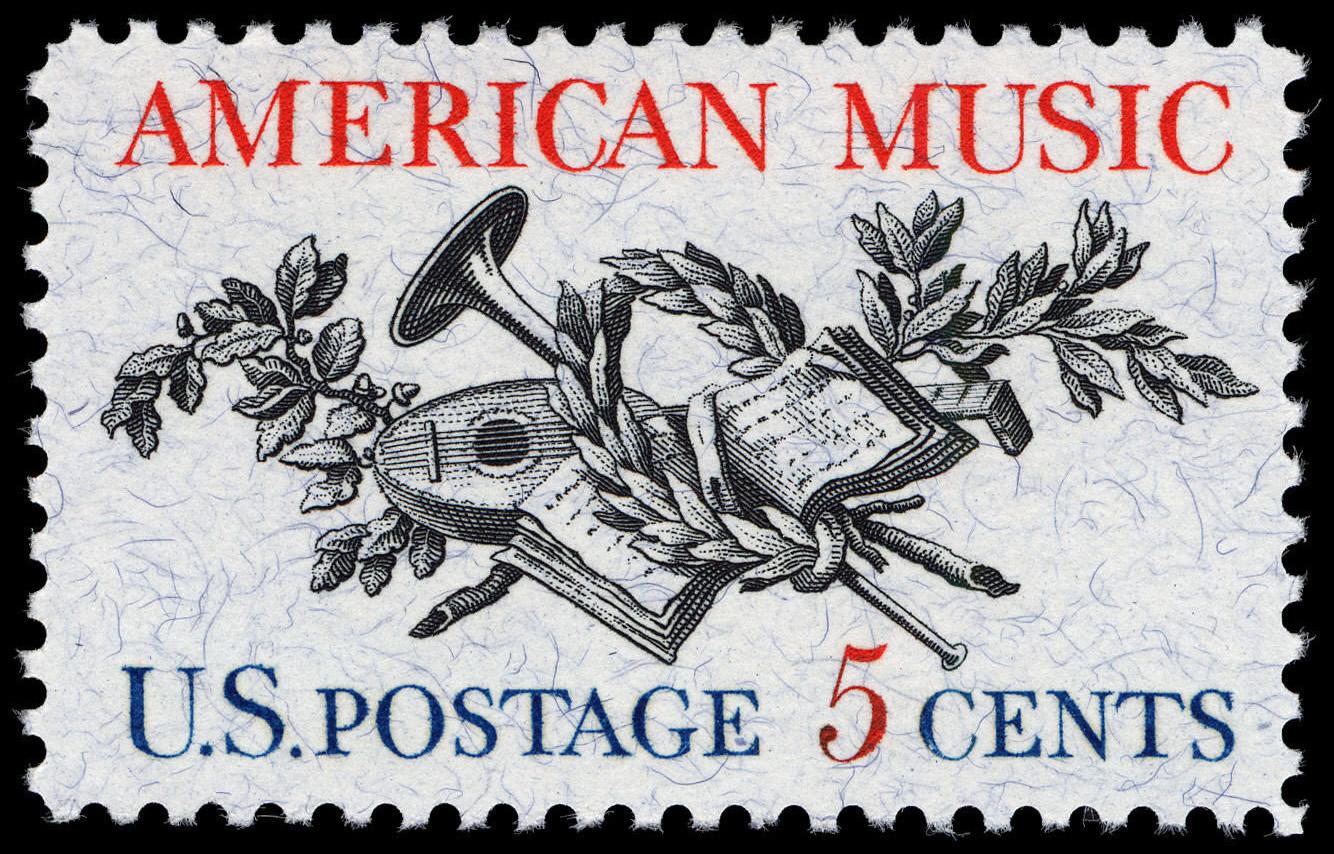 FileAmerican Music 5c 1964 Issue US Stamp