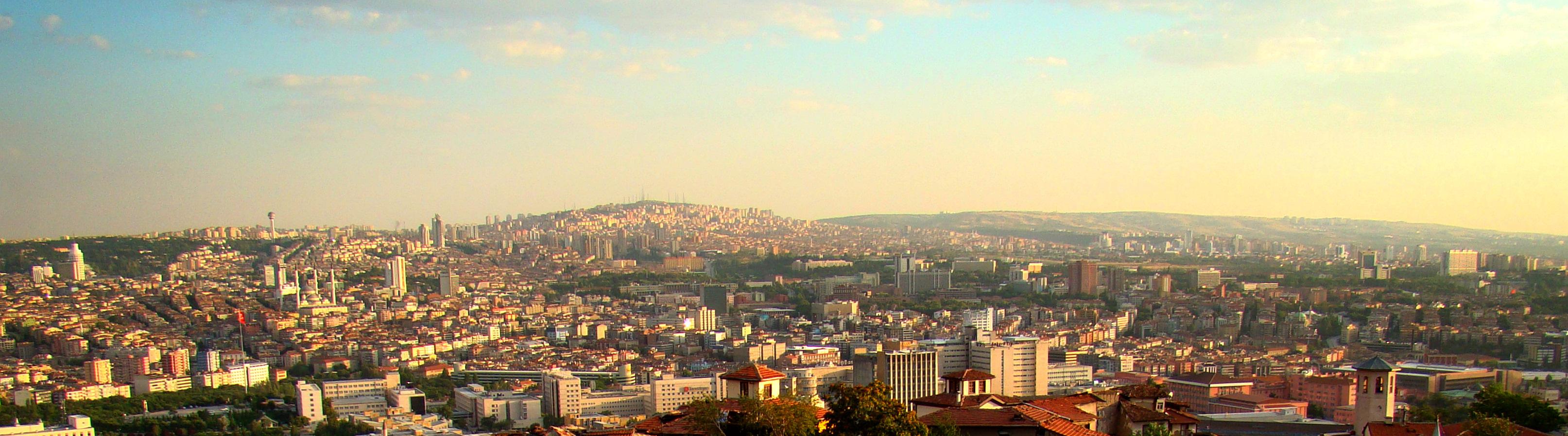 Ankara Kalesi'nden şehir ...