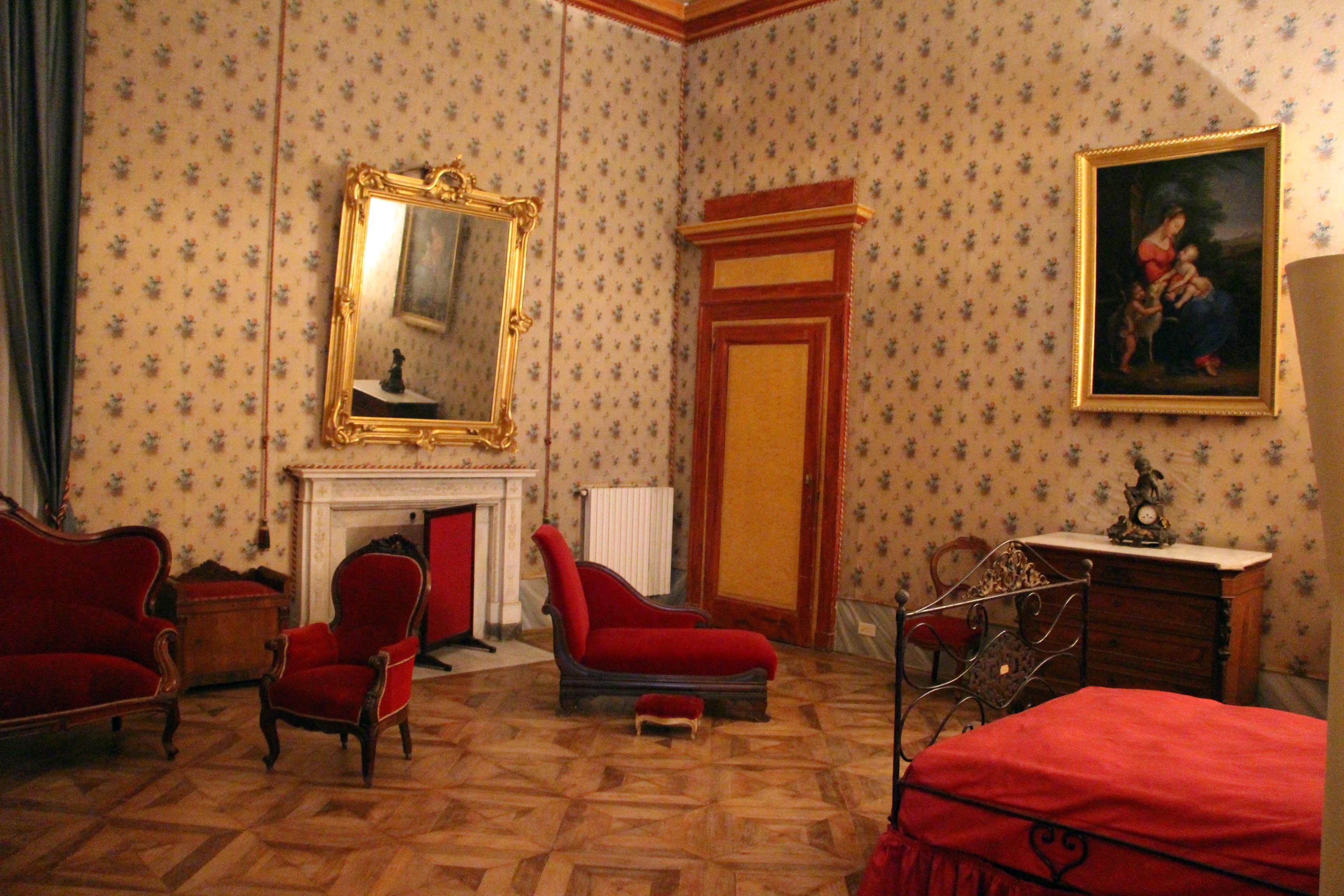 File appartamento di vittorio emanuele ii camera da letto for 2 piani di camera da letto