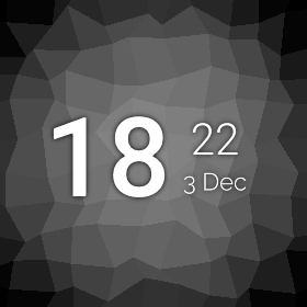 AsteroidOS - Watchface-default.png