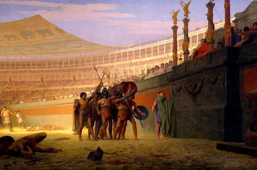 Аве Цезаре, готовите да умрат те поздравяват