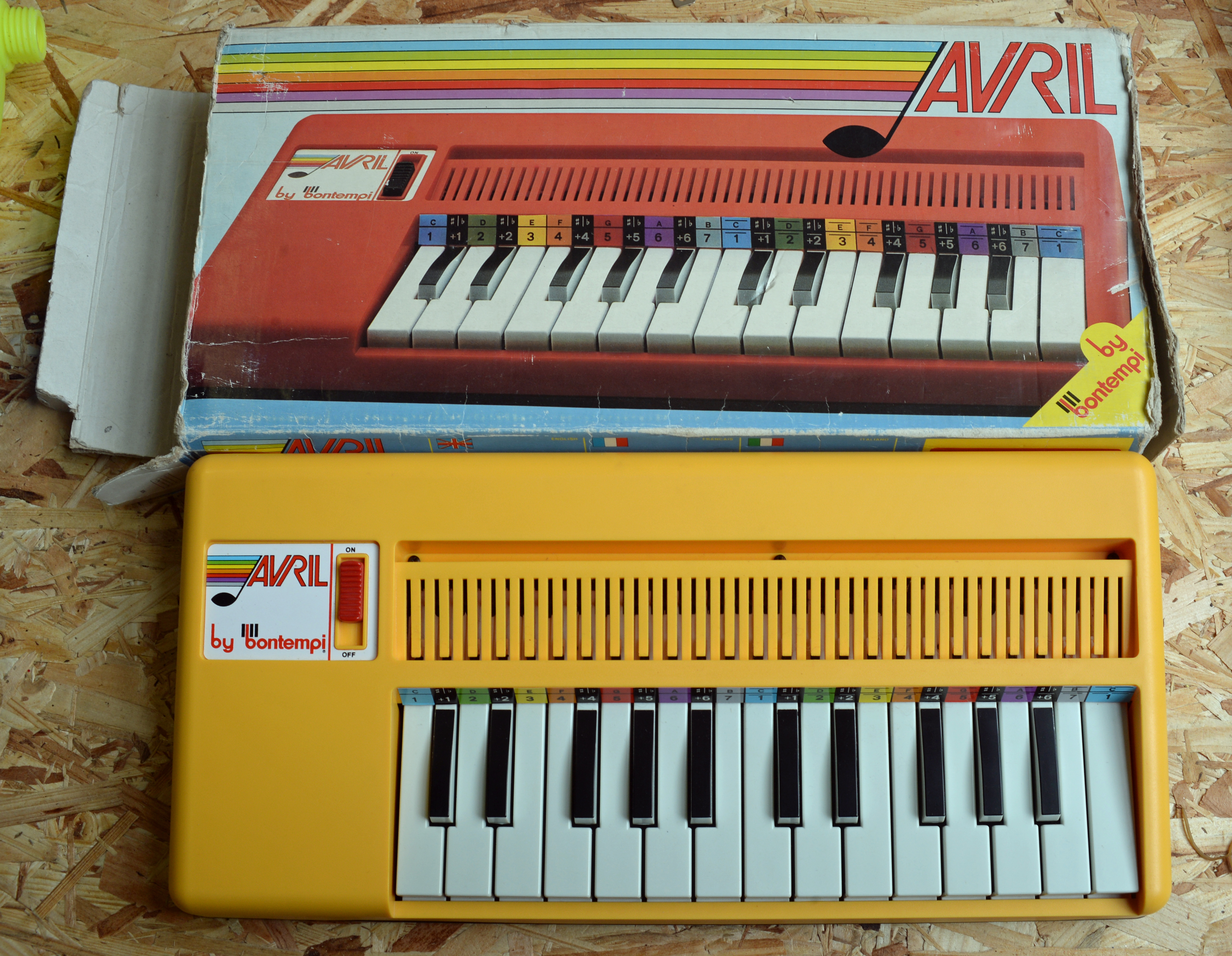 fileavril by bontempi mini electronic organ made in  (  - fileavril by bontempi mini electronic organ made in  (