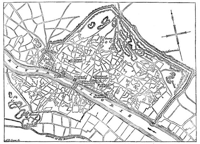 baghdad map 1854jpg