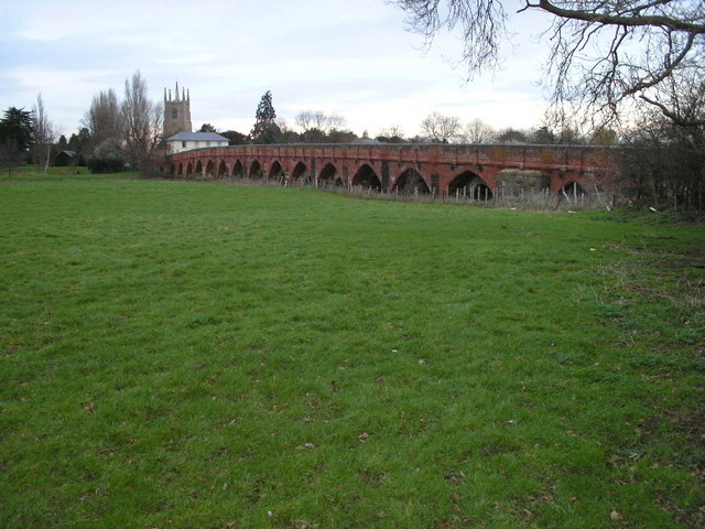 Barford Bridge over the Great Ouse - geograph.org.uk - 390756