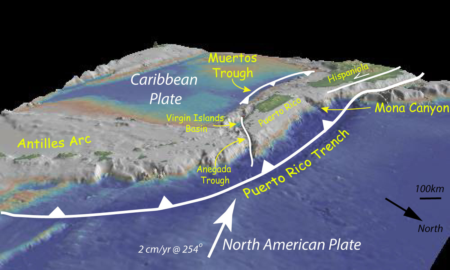 caribbean geology Prerequisites: two of gl21a/geol2001, gl22a/geol2002, gl23c/geol2003 and gl25a/geol2004 syllabus: geological evolution of the caribbean geology of caribbean mainland and island countries, and the caribbean seafloor.