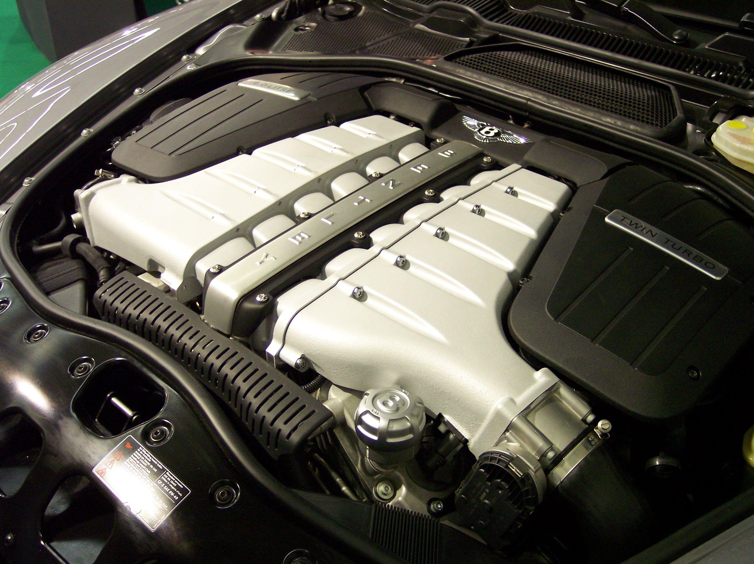 двигатель бентли